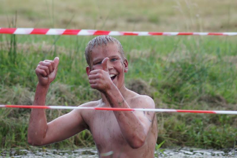 Lekker ploeteren door de modder