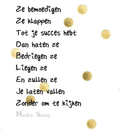gedicht succes wensen