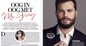 Jamie Dornan, 50 shades, hollywood, ontmoeting